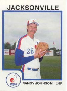 randy johnson baseball card