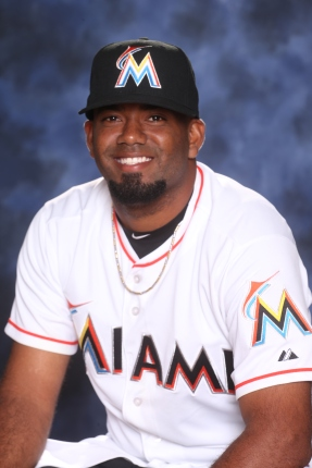 Lay Batista has been activated off the disabled list. Photo Courtesy: Miami Marlins