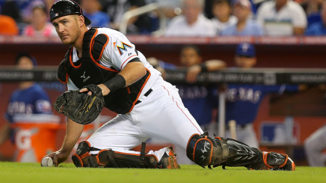 Jeff Mathis will join the Suns in Birmingham on a rehab assignment. Photo Courtesy:  Mike Ehrmann-Getty Images